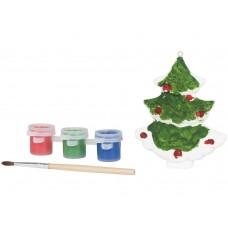 Раскрась рождественскую елку