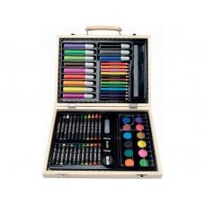 Набор для рисования из 67 предметов: краски