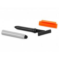 """Ручка-стилус шариковая """"Robo"""" с очистителем экрана"""