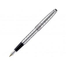 Ручка перьевая Meisterstück Solitaire Platinum-Plated Facet Classique. Montblanc